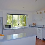 Large, airy kitchen on Rifle Range Road Bangalow