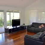 Lounge in home for sale on Rifle Range Road Bangalow