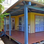 Veranda of house for sale in Bangalow on Rifle Range Road