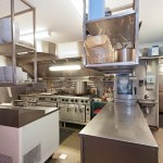 Kitchen at The Lazy Italian Byron Bay Restaurant for sale by Ed Silk Byron Bay